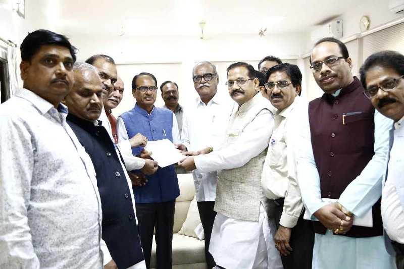 CM Chouhan Called on by Delegation of Akhil Bhartiya Kshatriya Kirar Mahasabha