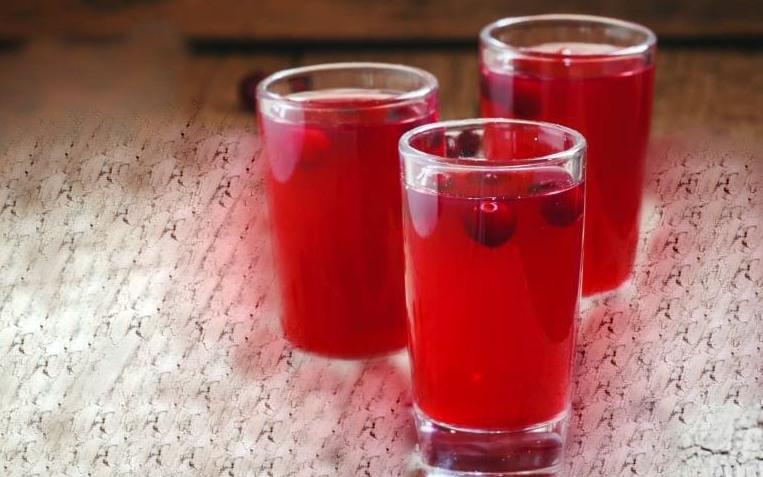 Cranberry Frozen Vodka Punch