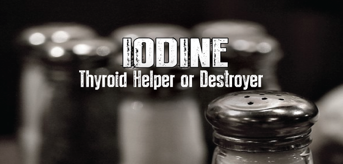 Have Proper Iodine Intake For Thyroid