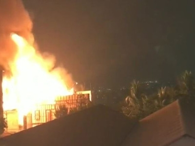 Film set gutted in fire at Annapurna Studios in Hyderabad (Lead)