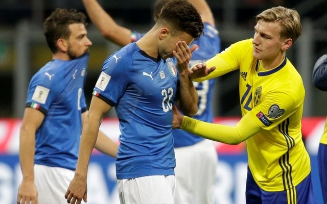 Italy fail to reach World Cup for first time in 60 years