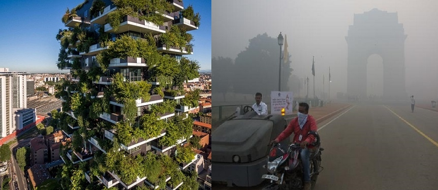 Delhi is in search of pollution ka Solution. The concept