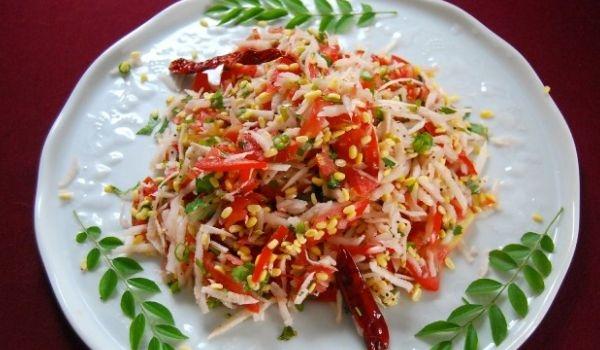 Kosambari (Cucumber Salad)