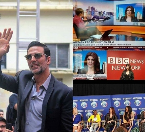 Not Batman, Superman or Spiderman, but real life hero 'PADMAN' AKA Akshay Kumar is set to take the Globe by storm!