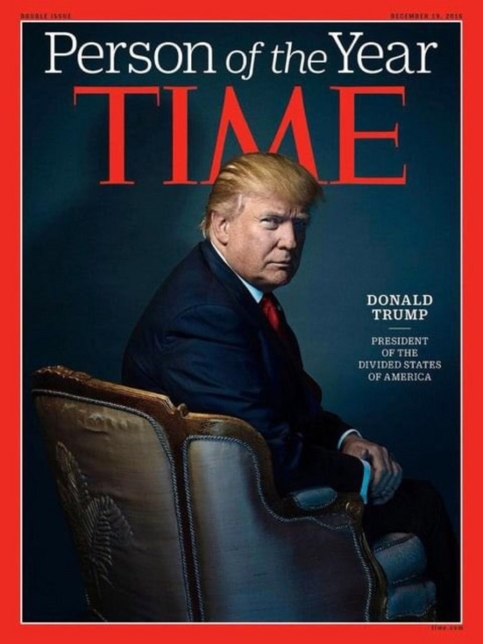 ​Thanks But No Thanks - POTUS Turns Down the  Time's offer being called the Person of The Year!