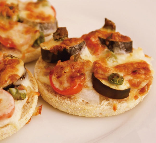 Individual Mini Pizzas with Miso