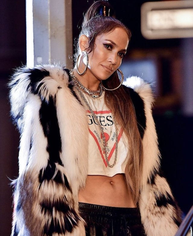 ​Guess Girl JLo dodge on to time leaving time itself bemuse!