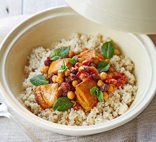 Easy chicken & chickpea tagine