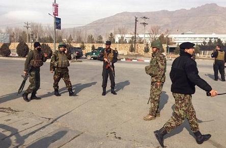 Gunmen attack Afghan intelligence training centre