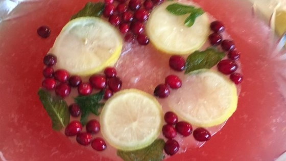 Champagne Punch Raspberries, Chilled