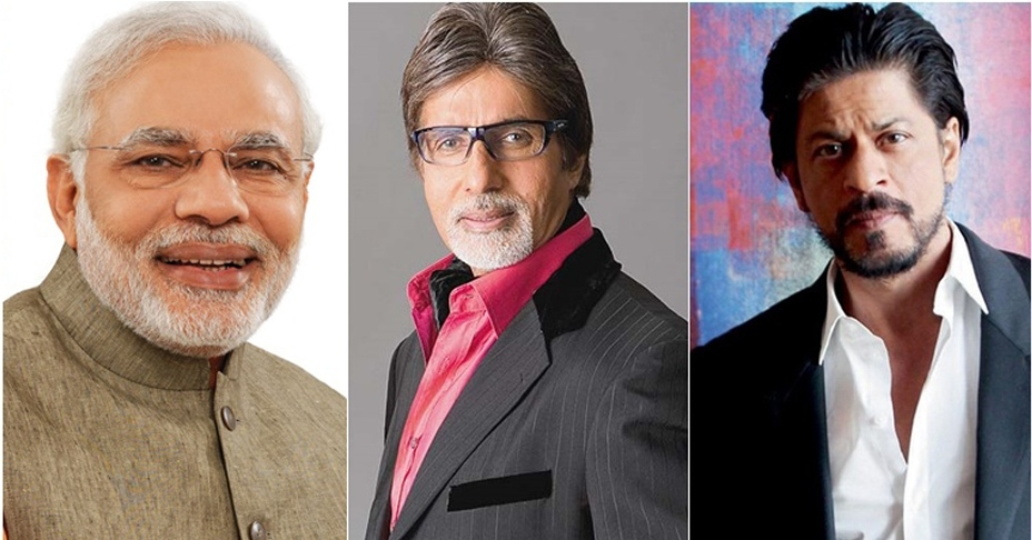 Modi topped on twitter, Deepika only female in top 10