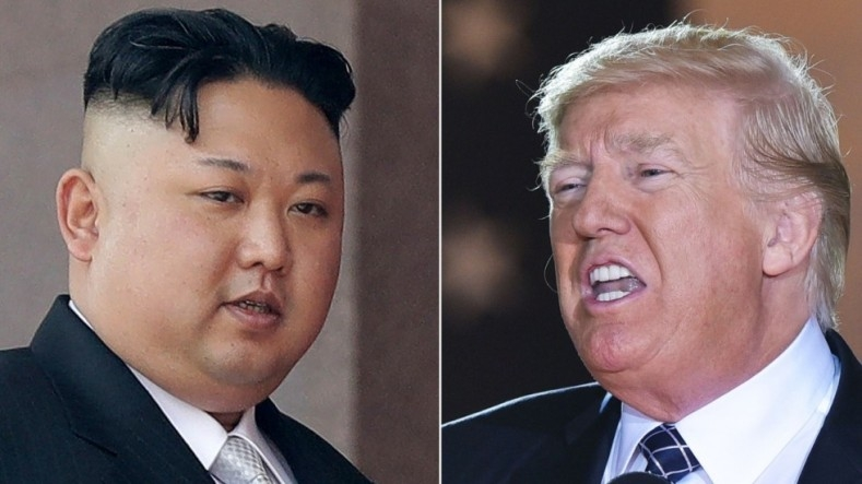 "Remarkable ""Nuclear Button size"" war between Trump and Kim Jong-un"