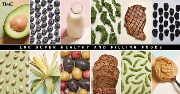 100 Super Healthy and Filling Foods