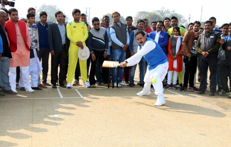 All India T-20 Cricket Competition Begins at Datia