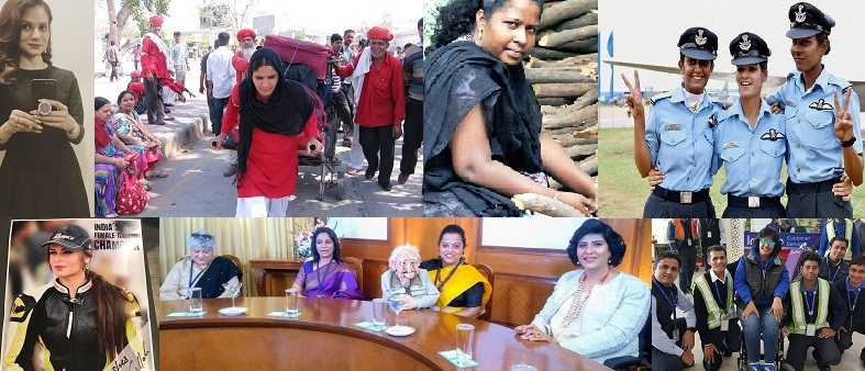 "Meet the Astounding Groundbreakers to be Honoured By The President Ramnath Kovind Today as ""First Ladies"""