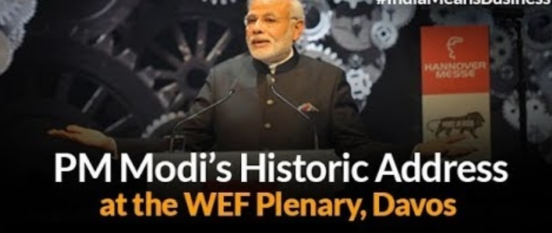 ​Prime Minister Modi is set for a Historical Address at the WEF 2018 and World is Holding Hawkeyes Over the Event, watch PM Modi live Now, #DavosDirect!