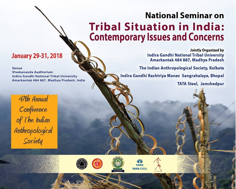 Three-day National workshop on 'Tribal Situation in India'