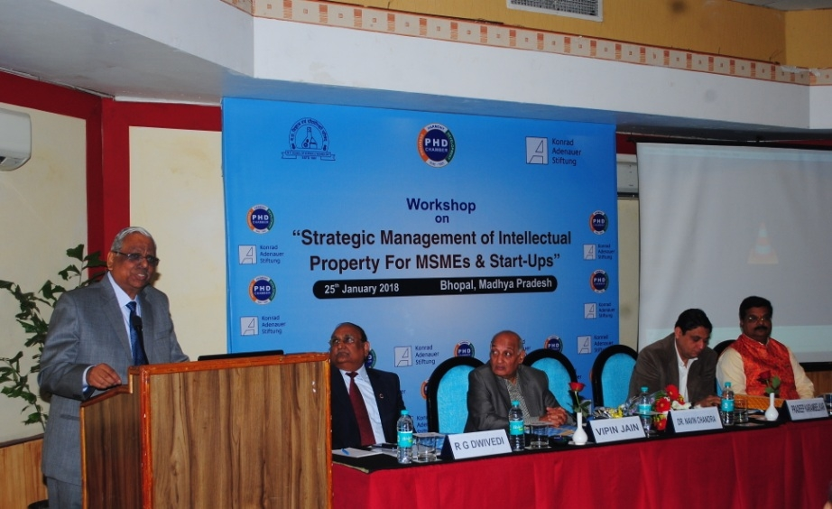 """One Day Workshop on """"Strategic Management of Intellectual Property for MSMEs and Start-Ups"""" Held"""