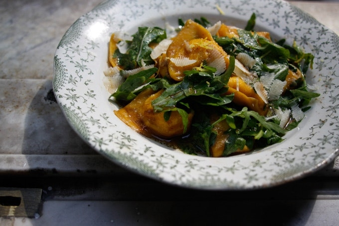 Brown Butter Tortelli