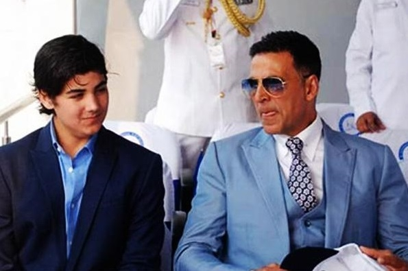 "Akshay Kumar; What a Moment When, My Son Aarav turned to tell, ""Good Job Dad""!"