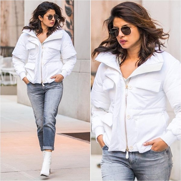 Priyanka Chopra on Holiday Gateway, and is Fully in AITRAAZ with the Thought of Quitting Solace and Sunshine By The  Sea Side!