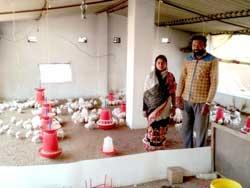 Rural women labourers setting up their own enterprises