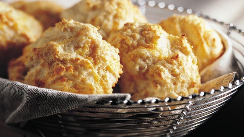 Bisquick Heart Smart Cheese-Garlic Biscuits