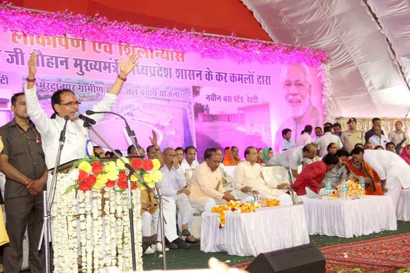 Development of state to continue non-stop: CM Chouhan