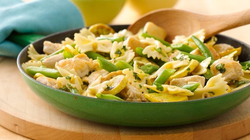 Chicken and Vegetable Pasta Skillet