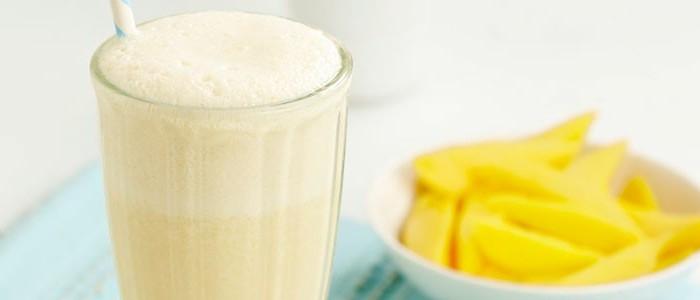 Lactose Free Mango Flavored Soymilk Lassi