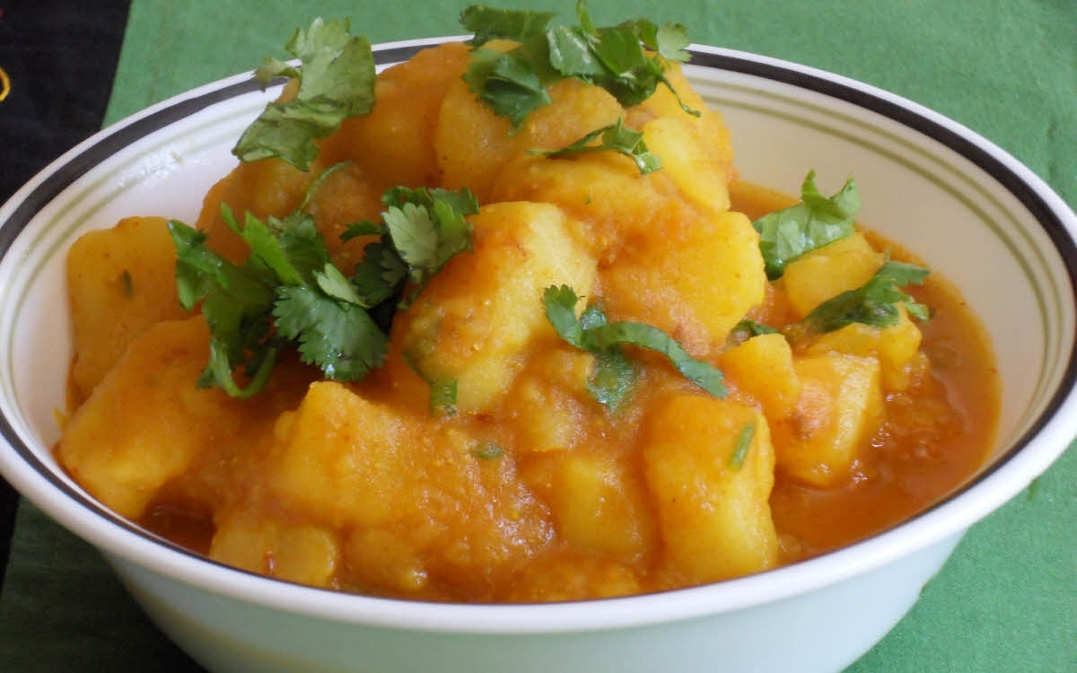 Vrat Aloo Curry - Navratri Special