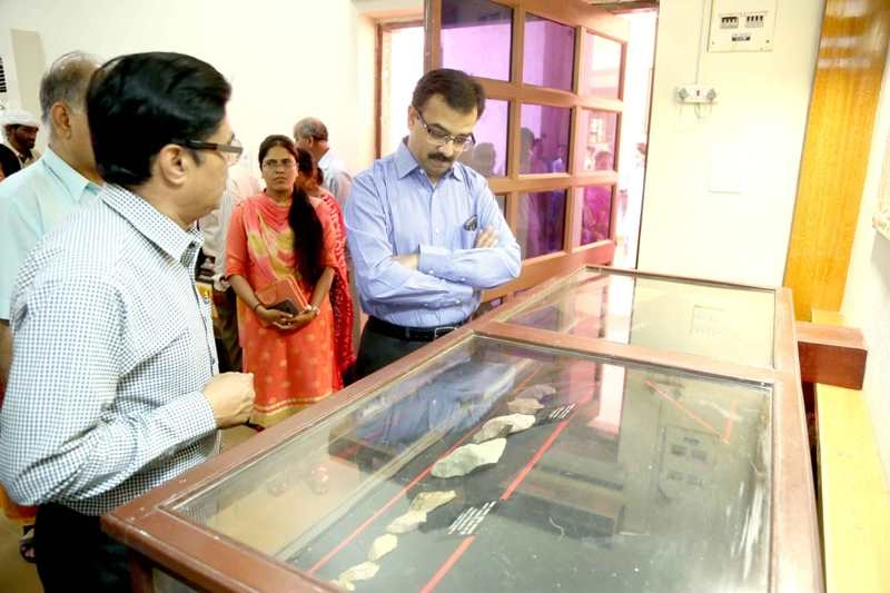 Archaeological Commissioner Rajan inaugurates archaeological photo exhibition