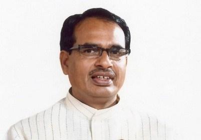 CM Chouhan greets people on Ramnavmi