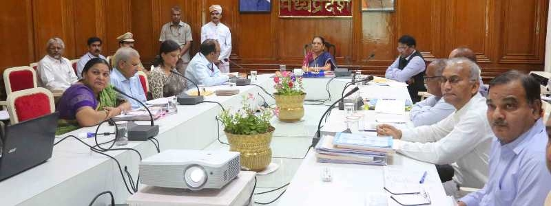 Conduct joint campaign to protect children from malnutrition: Governor Smt. Patel