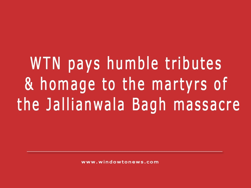 Jallianwala Bagh massacre- A barbaric act by British in India
