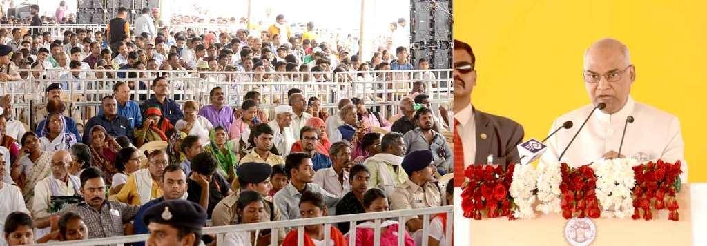 The country needs harmony not war: President Kovind