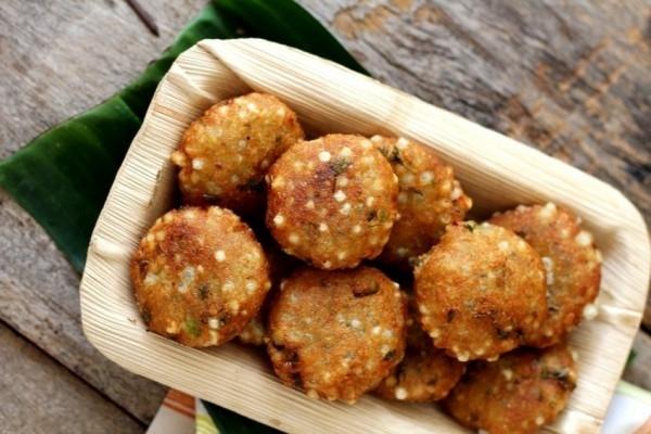 Sabudana Vada - Fried/Baked
