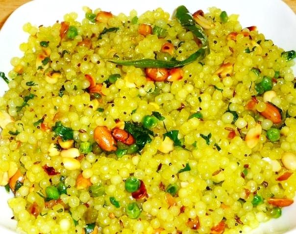 Sabudana Khichdi - Regular/Low Calorie - Navratri Special