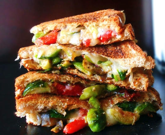 Healthy Sprouts Grilled Sandwich