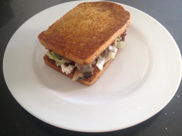 Sardines Sandwich
