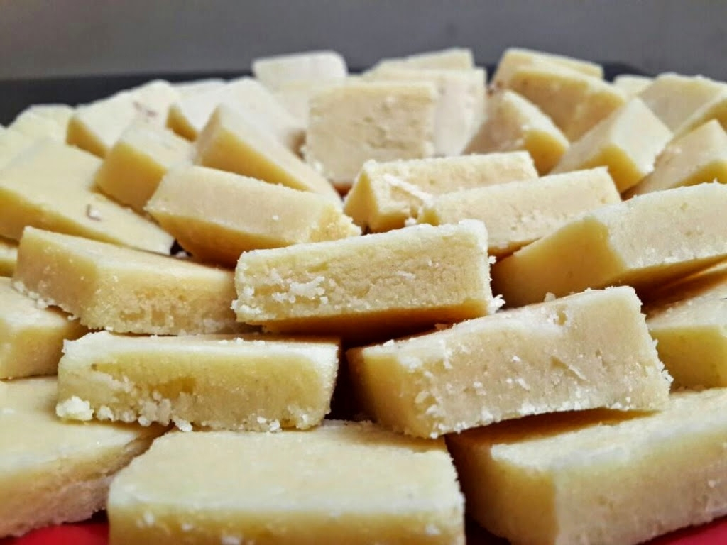 Milk Burfi - Dhanteras Special