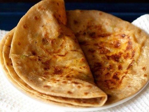 Yummy Cheese Paratha