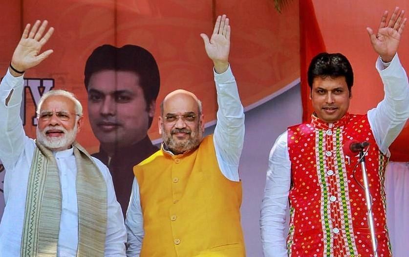 Is Modi angry with Tripura CM Biplab Deb?