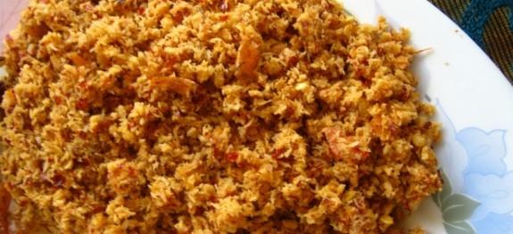 Red Chilli and Dried Prawns Chutney