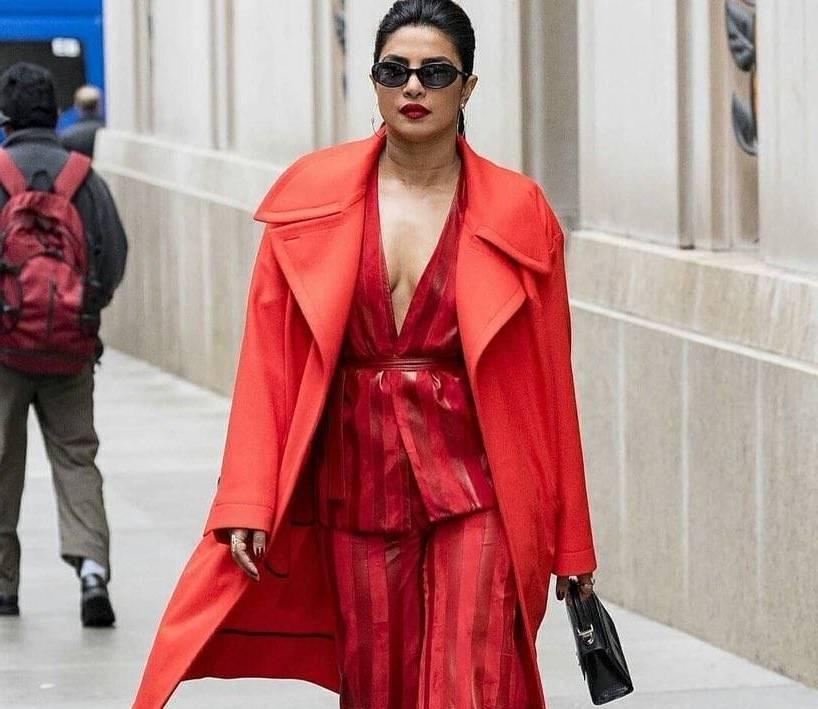 Priyanka Chopra worn something like the marriage speculation
