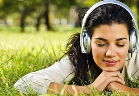 It is beneficial to listen the music to overcome depression