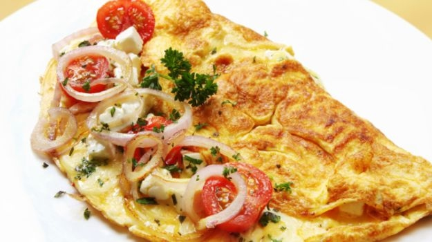 Spicy Omelette : Breakfast Special