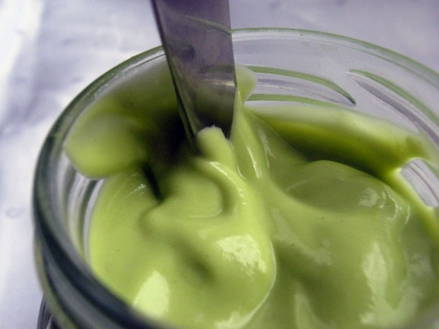Green Mayonnaise Dip