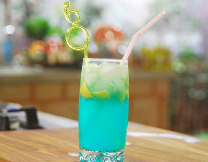 Curacao Blue Mocktail