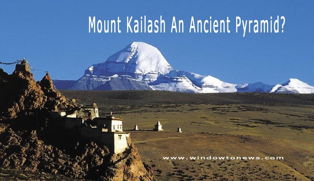 Mount Kailash An Ancient Pyramid?